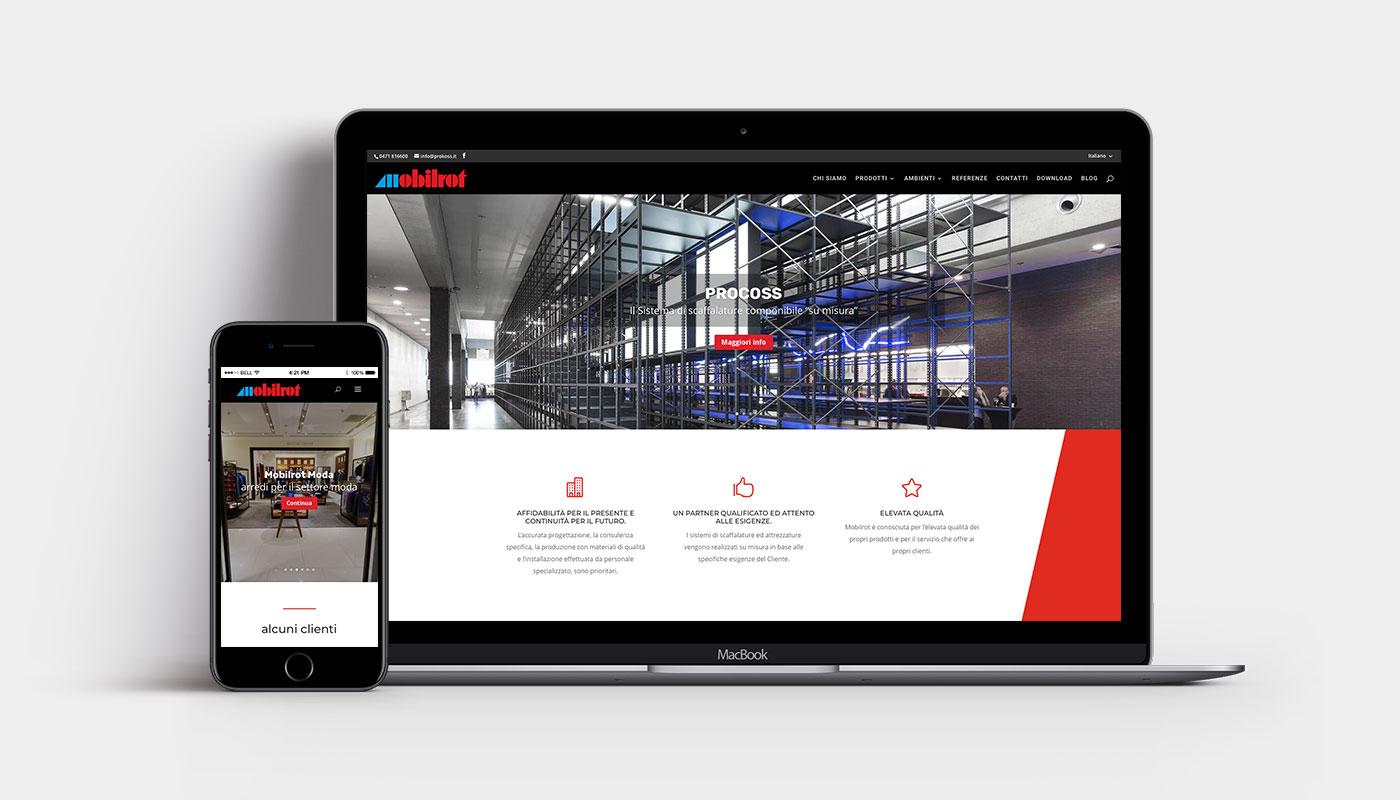 mobilrot sito web bolzano