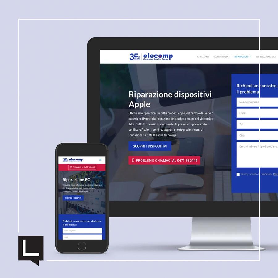 elecomp web responsive